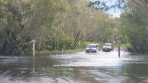 Ubirr drive in Wet Season